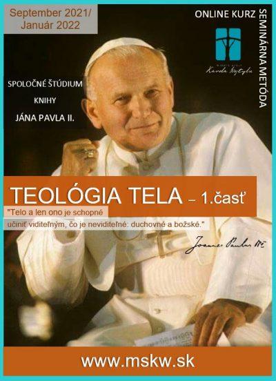 Teologia tela - Semestralny program 2021_22
